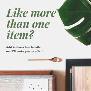 Other - Add 2 or more items to a bundle!